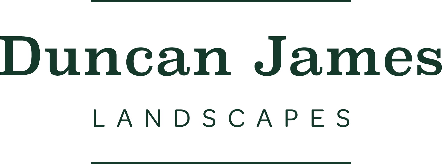 Duncan James Landscaping Logo